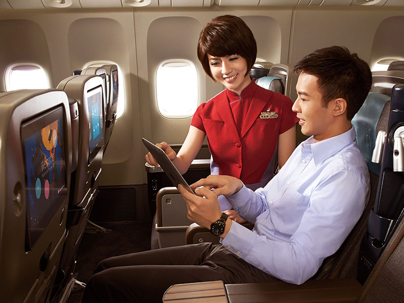 Hướng dẫn check in online China Airlines
