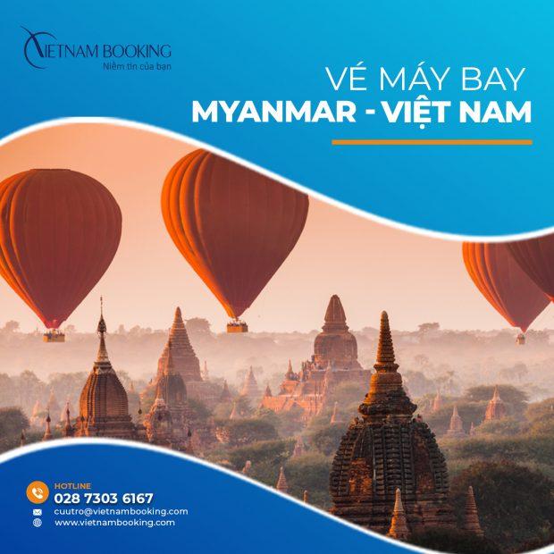 Chuyến bay từ Myanmar về Việt Nam 2021