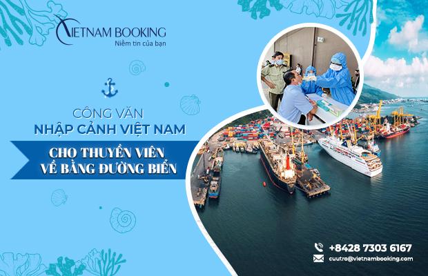 Xin công văn nhập cảnh cho thuyền viên về Việt Nam