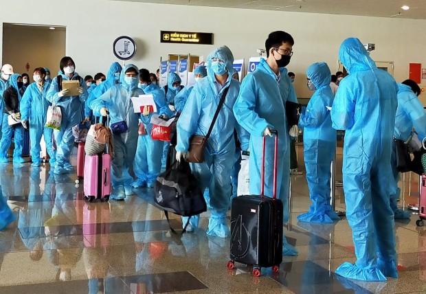 khách sạn cách ly ở Việt Nam cho người nhập cảnh